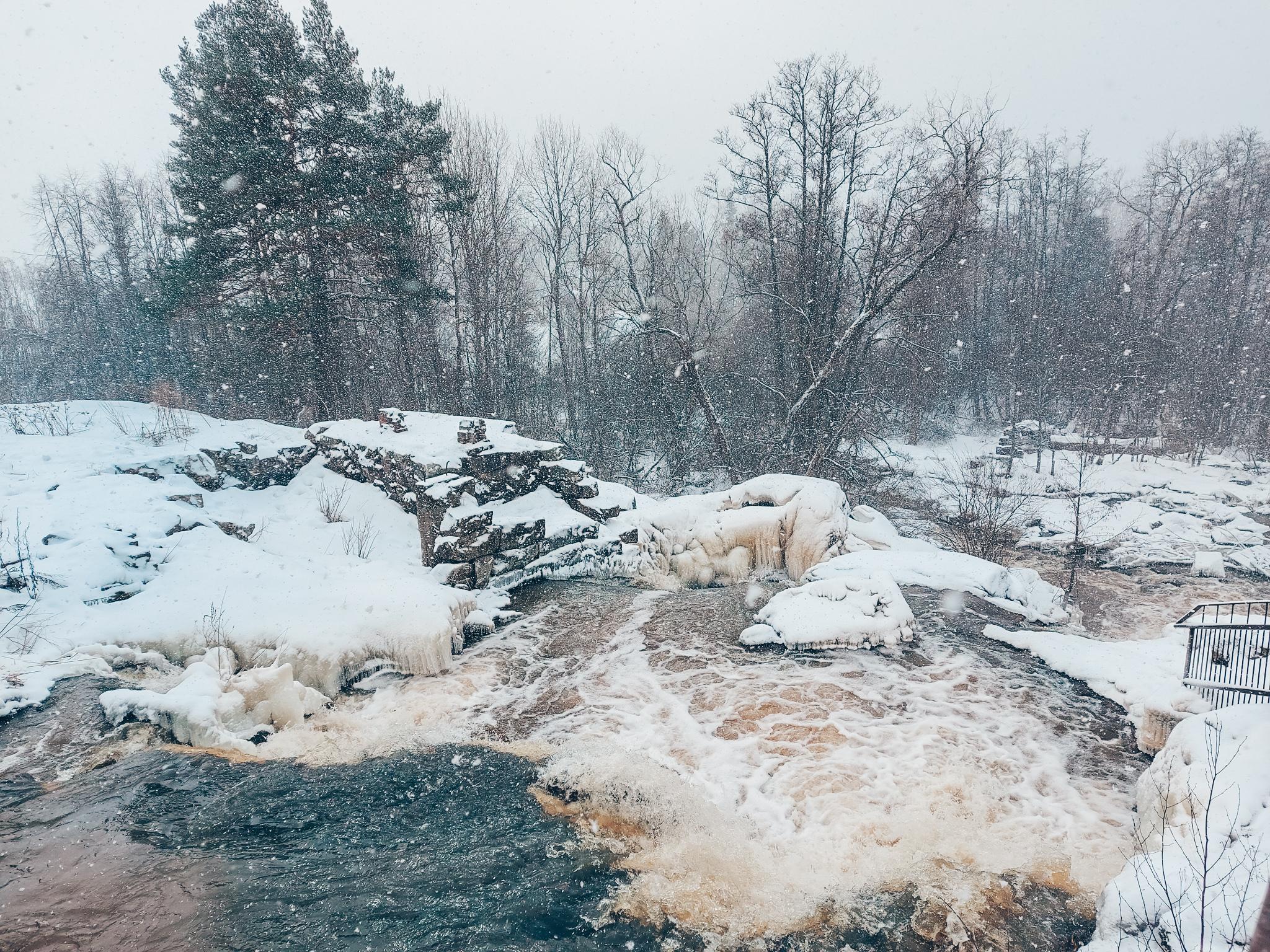 vesiputous suomessa