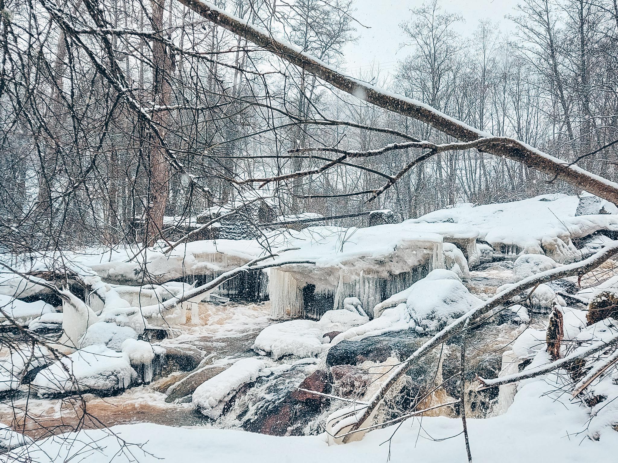 uudenmaan suurin vesiputous Nurmijärvellä